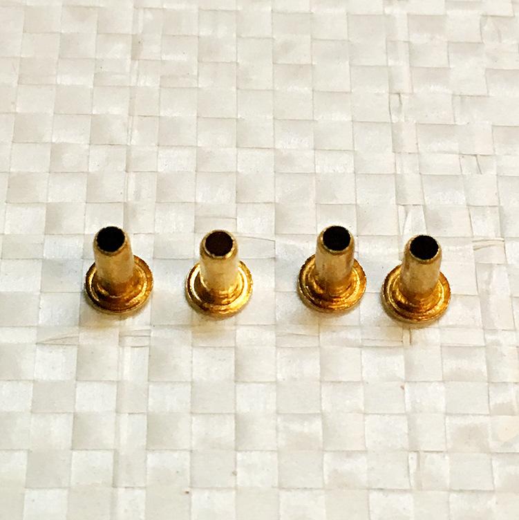 SHUNSHENG Đinh Nhà máy sản xuất đinh tán rỗng trực tiếp đinh tán hình ống bằng đồng 304 thép không g