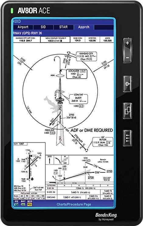 Định vị Hệ thống Bendix King - AV8OR ACE với chuyến bay 066-01209-00 .
