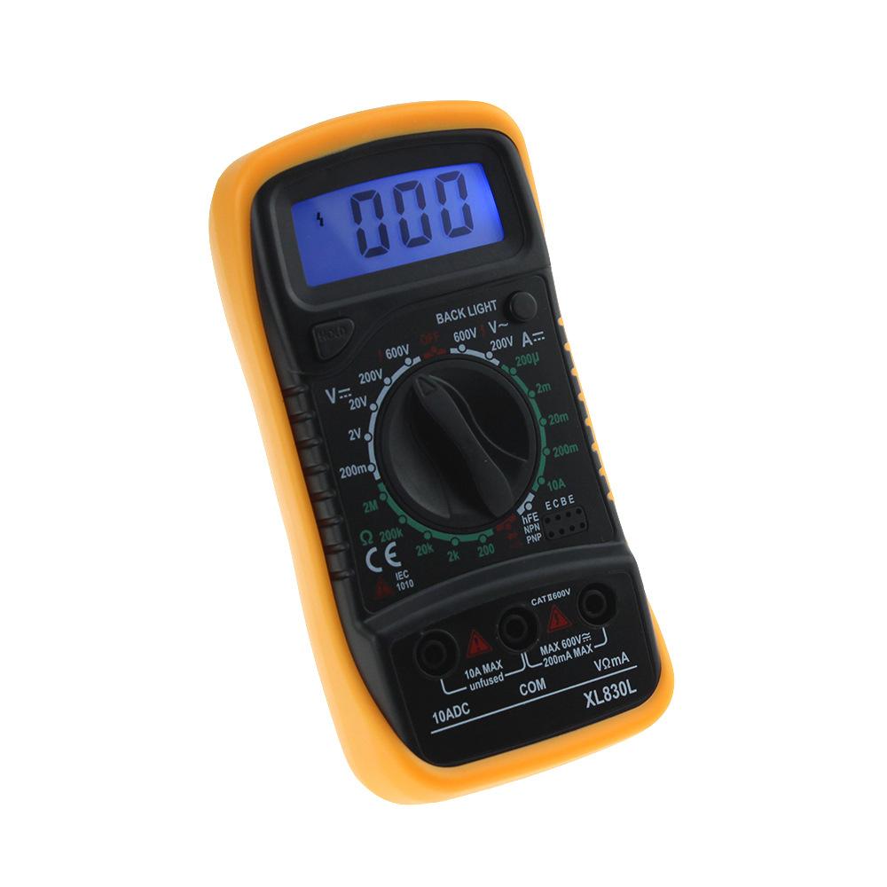 OEM Đồng hồ đo điện Đồng hồ vạn năng kỹ thuật số XL830L Máy đo vạn năng cầm tay
