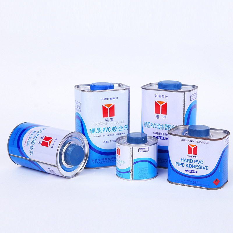 YINYA Keo dán tổng hợp Keo dán keo PVC Thoát nước cấp keo đặc biệt Keo khô nhanh Chất kết dính nhựa