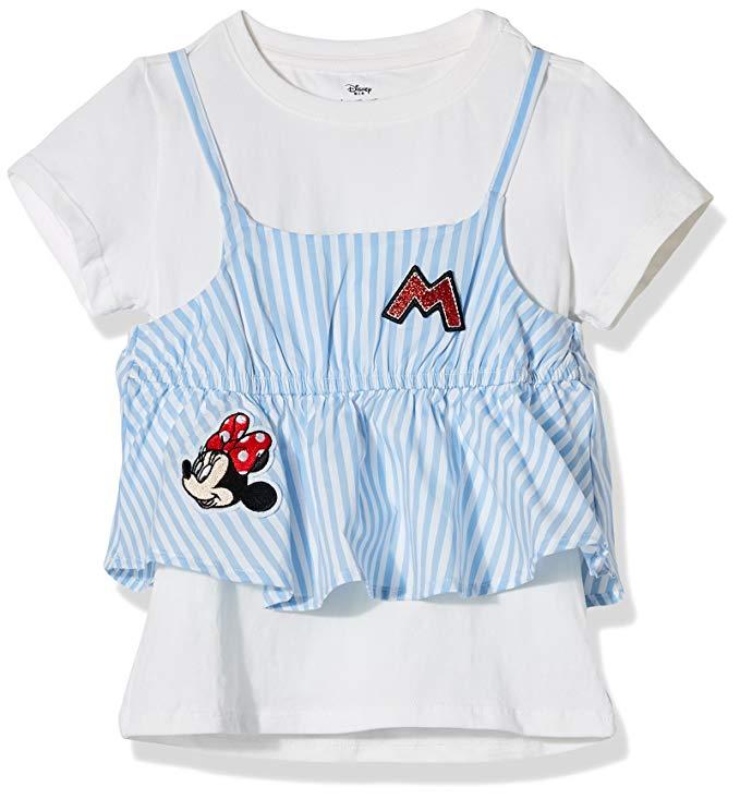 Áo phông ngắn tay Disney Disney Kids Girls KVM8M1KTKG2409XB