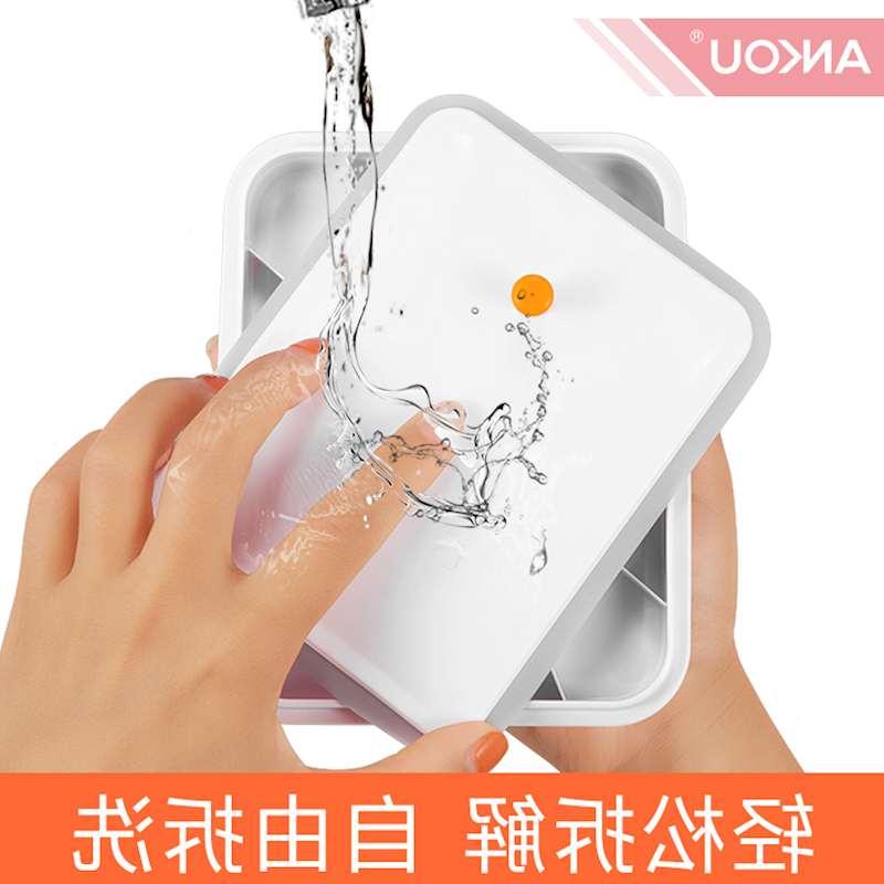 4 mảnh (2300ml*1+1700ml*2+1000ml*1) đóng lon hộp nhựa tươi hơn.
