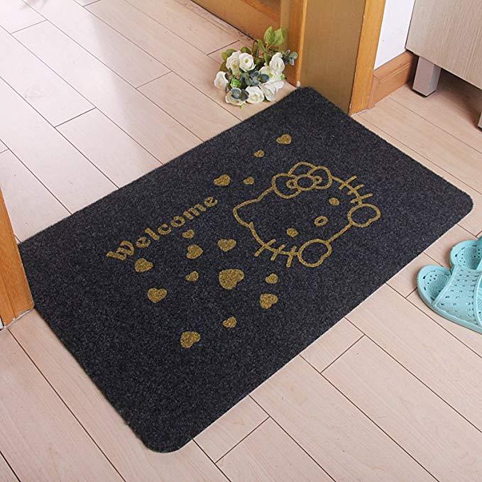 JNYP thị trường đệm lót đệm chân Kitty Home lối vào hiên Cửa thảm sàn thảm Thảm chống thấm sàn chống