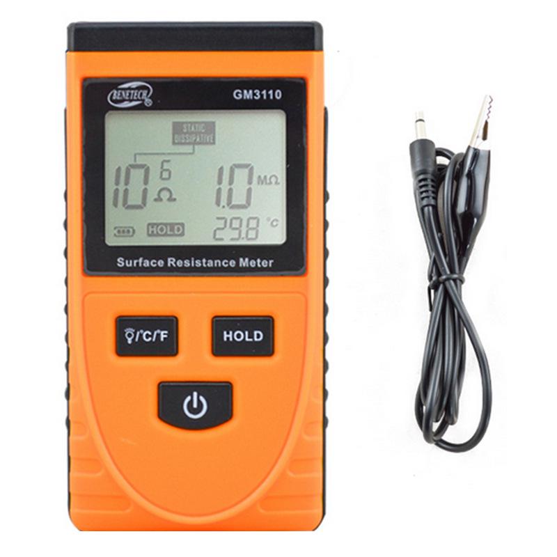 BIAOZHI Đồng hồ đo điện Thiết bị đo dụng cụ điện trở kháng kiểm tra trở kháng tĩnh điện nhà máy thử