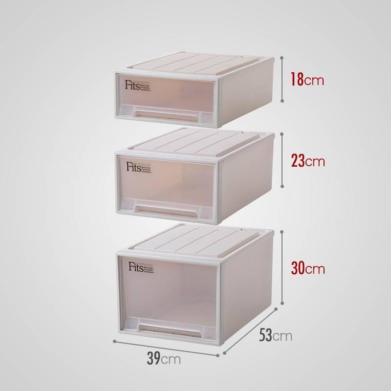 Thùng nhựa Nhật Bản công nhận lấy thùng nhựa nhập khẩu Pegasus ngăn kéo tủ lấy hộp xếp 39cm ba lắp h