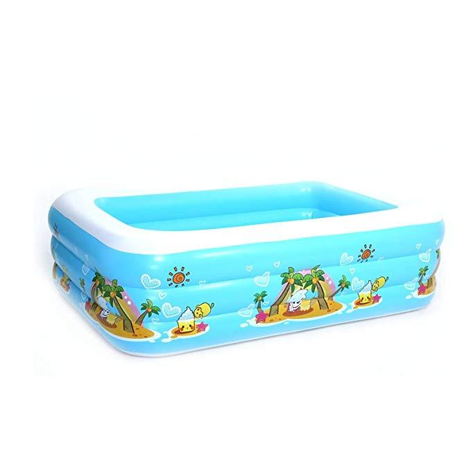 Bể bơi đồ chơi cho trẻ xanh nước biển Sea Rain