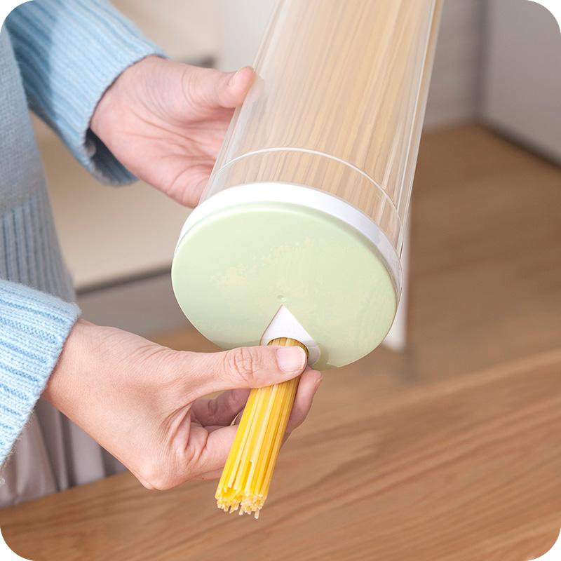 Nhật Bản mua bếp hộp mì ngũ cốc Hoa màu chính Bình công suất lớn trữ lương thực thực phẩm vật mì sợi