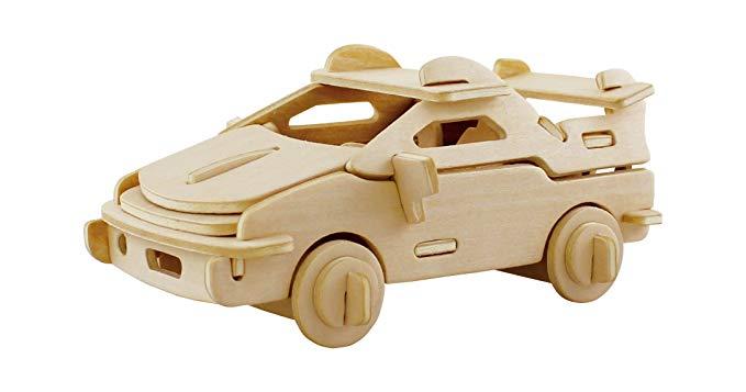 Robotime 3D bằng gỗ mô hình câu đố ba chiều đồ chơi giáo dục mầm non Đồ chơi trí thông minh Câu đố c