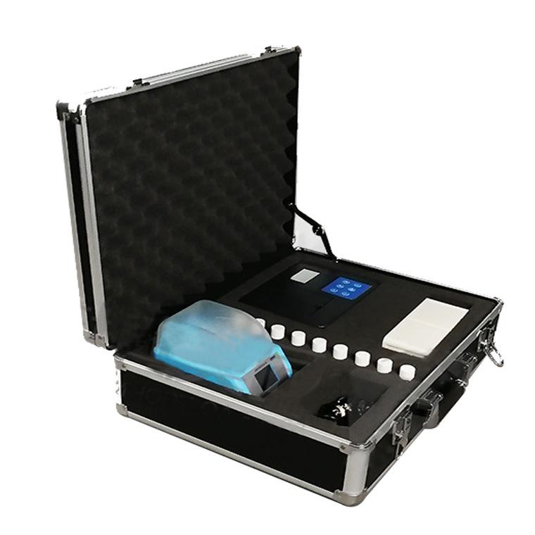 HUAGAO Dụng cụ phân tích Ammoniac nitơ tổng số phốt pho tổng công cụ đo chất lượng nước nitơ bốn tro