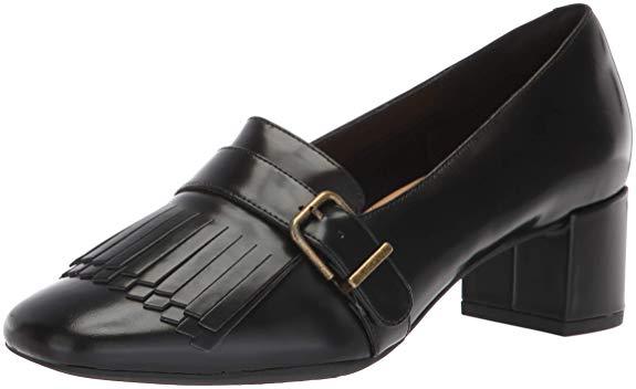 Giày Tây cao gót bằng da dành cho nữ , Thương hiệu : Clarks