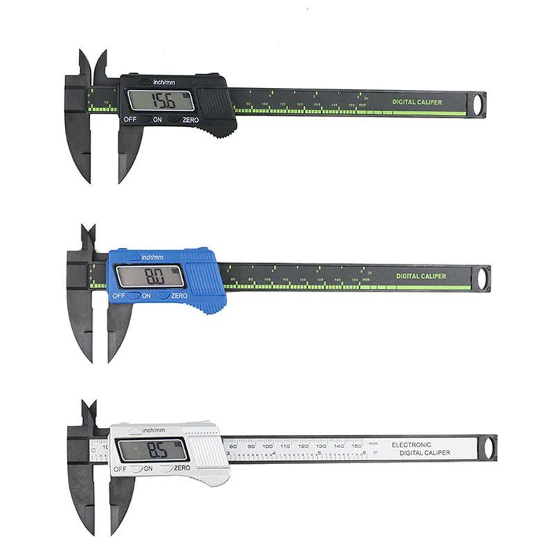 Ninth World Thước kẹp điện tử Caliper kỹ thuật số 0-150mm nhựa vernier caliper công cụ đo đường kính