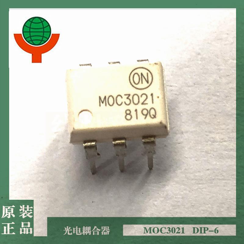 ON Thiết bị điện quang TRÊN thiết bị quang điện tử gốc MOC3021 DIP-6 MOC3021M chính hãng