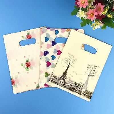 Túi nhựa chơi kèn túi quần áo túi đồ trang trí tiệm bán đồ hàng bán buôn tay túi túi túi đồ túi quà