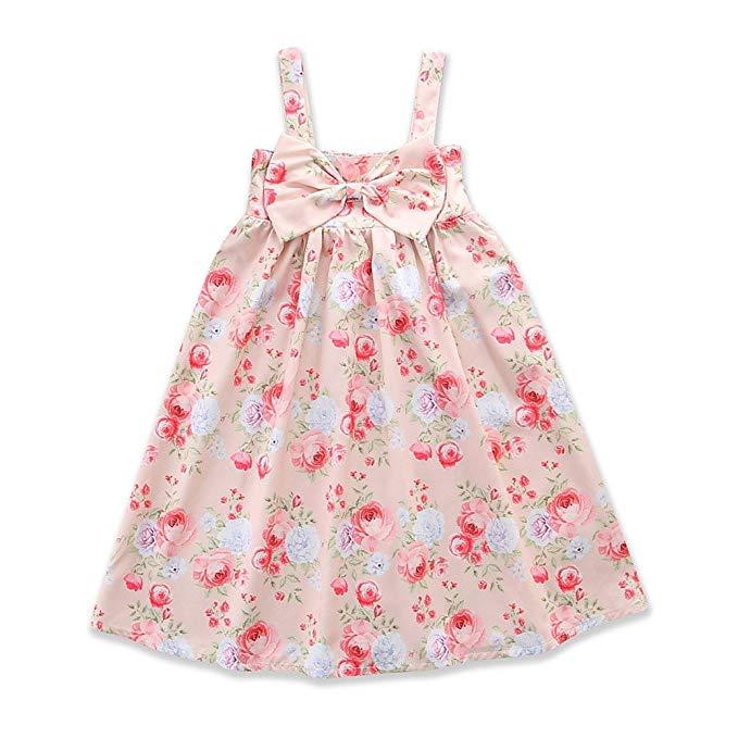 Samgami bé trẻ em Châu Âu và Mỹ mùa hè cô gái mới dresses Không Tay in hoa dresses Dễ Thương thời tr