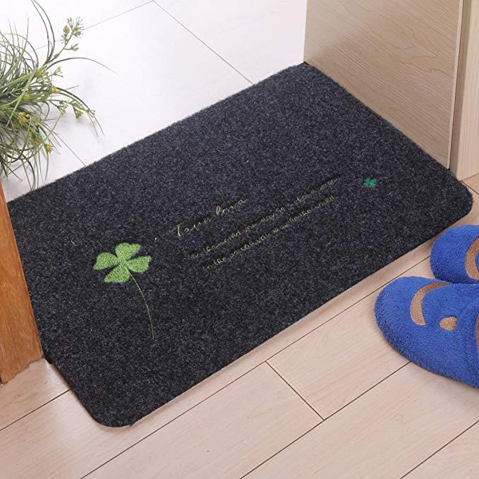 LANGJU thị trường đệm lót đệm chân Vòng chống thấm nước vòng nhung sàn thảm thảm cửa ra vào hiên (50