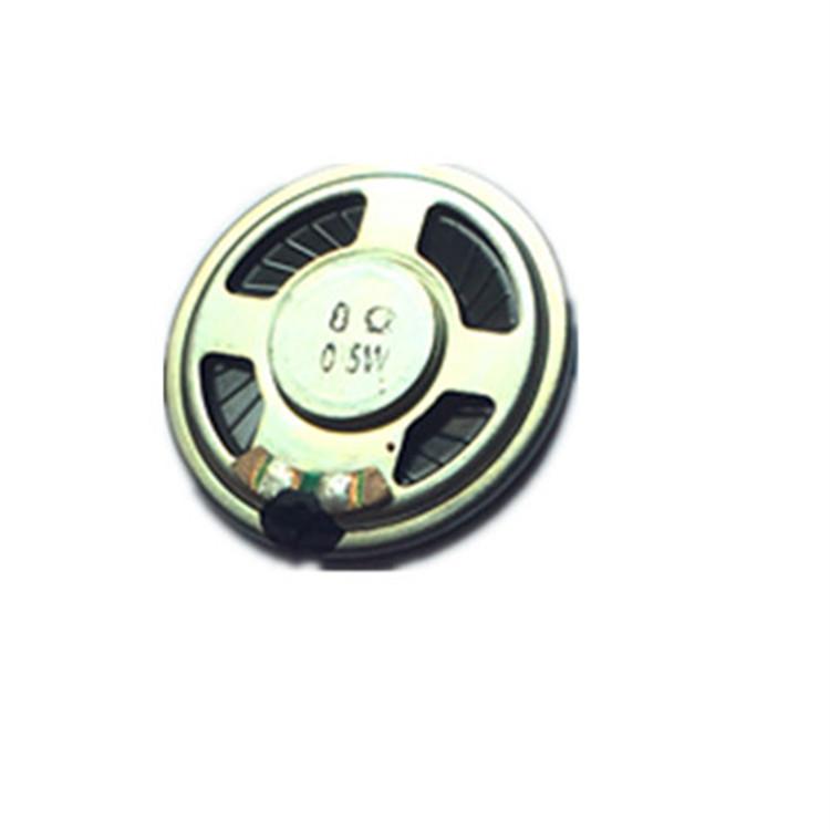 CHAOYINZHE Loa 40mm 8 ohm 0,5w Loa 16 ohm 0,25w từ tính xây dựng giọng nói liên lạc vỏ sắt