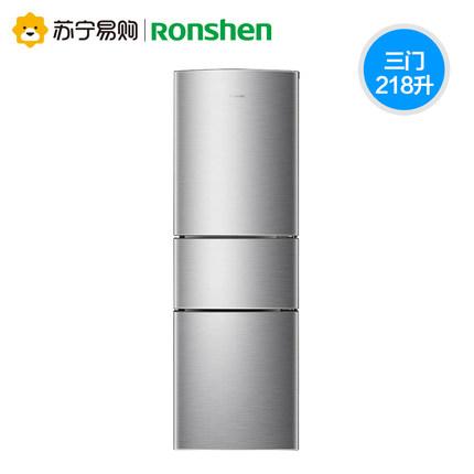 Ronshen Tủ lạnh  Ronshen  BCD-218D11N tủ lạnh nhỏ ba cửa mềm đông lạnh và tủ lạnh tiết kiệm năng lượ