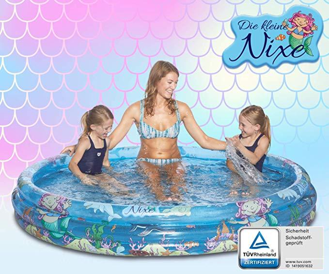 Happy People bể bơi trẻ sơ sinh 77747 Die Kleine Nixe Baby Pool, Nhiều màu