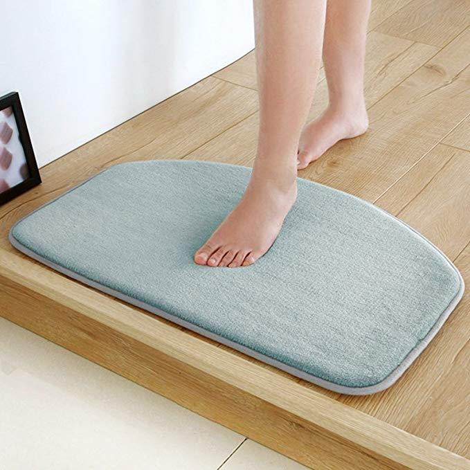 MAIYA thị trường đệm lót đệm chân Maia sàn mat đồng bằng san hô nhung cửa thảm phòng tắm nhà bếp mat