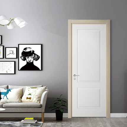 Nội Thất cửa Phòng bằng Gỗ thiết kế đơn giản và hiện đại .