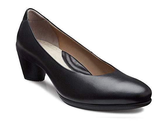 Giày búp bê Da cao gót Thời Trang dành cho Nữ , Thương Hiệu : Ecco