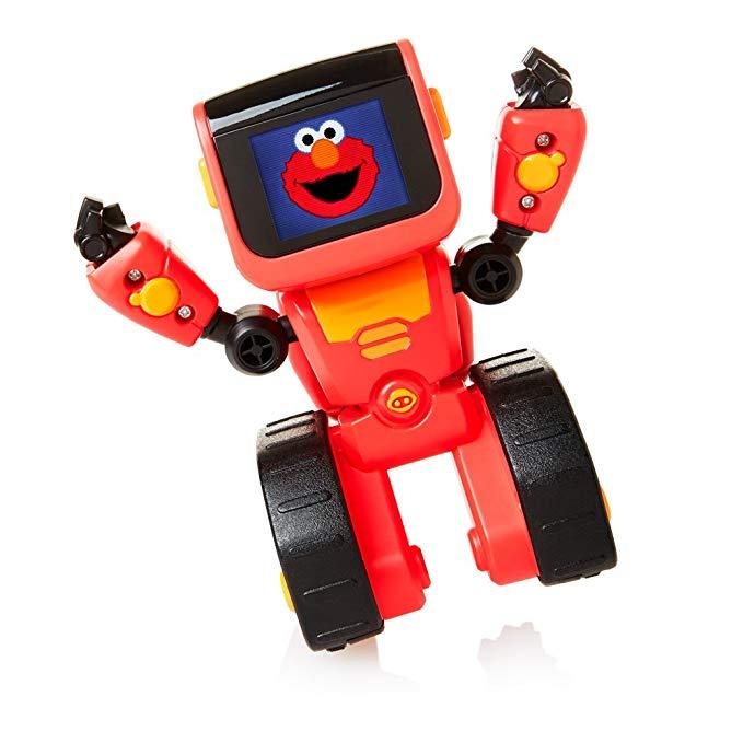 Đồ chơi robot mã hóa biểu tượng cảm xúc WowWee Elmoji, màu đỏ