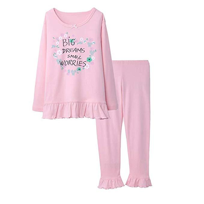 Mẹ và cha pro trẻ em đồ lót bộ cô gái bé bông mùa xuân và mùa thu mùa đông dài tay áo quần ấm quần á