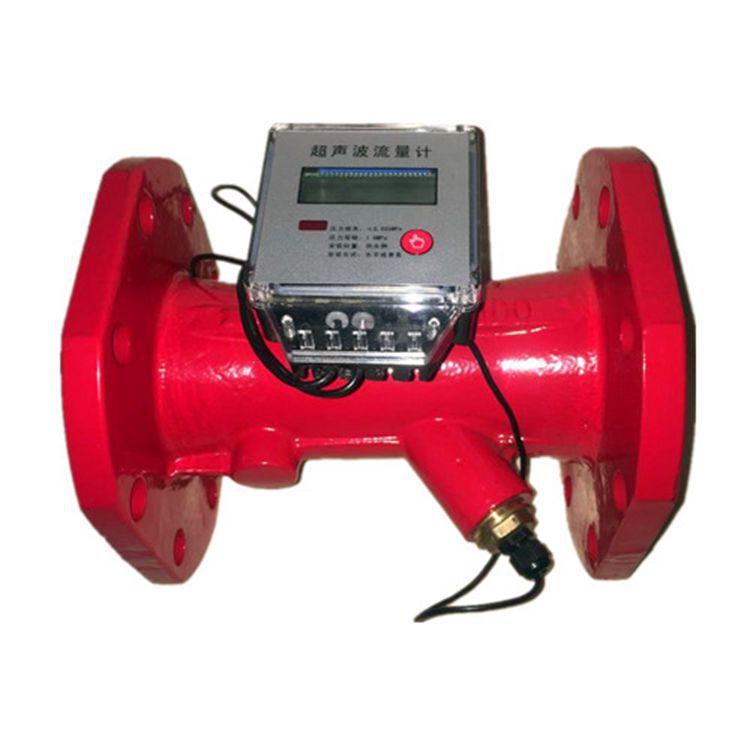TONGSHUN Đồng hồ đo lưu lượng dòng chảy Nhà máy trực tiếp siêu âm lưu lượng kế đường ống lửa lưu lượ