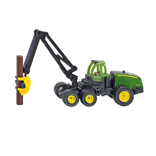 Mô hình xe máy thu hoạch cây gỗ SIKU