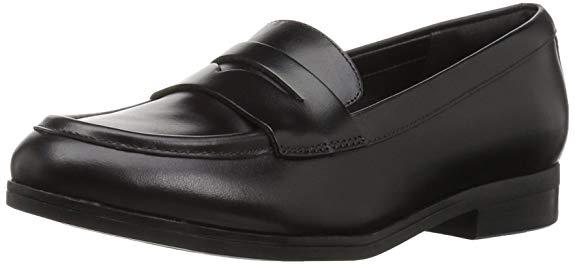Giày Tây đế bệt bằng Da dành cho Nữ , Thương Hiệu : Clarks - Tilmont Zoe Penny .