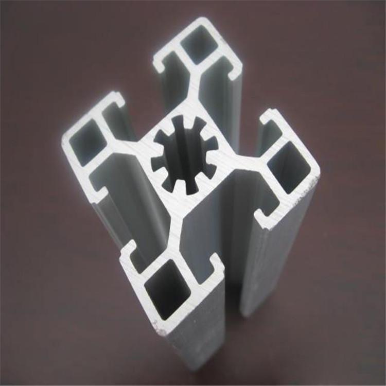 Vật liệu dị dạng Dây chuyền lắp ráp nhôm công nghiệp Hồ sơ lắp ráp 40 * 40 Dây chuyền lắp ráp bộ phậ