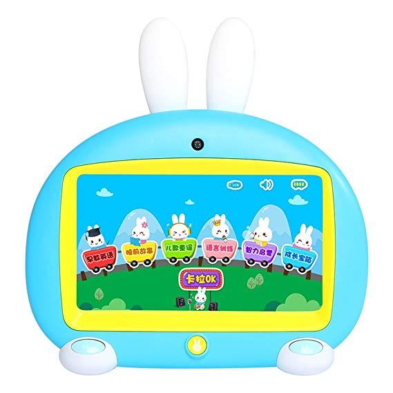 Lửa thỏ giáo dục sớm cho trẻ em video câu chuyện máy học hát màn hình cảm ứng mắt 3-6 tuổi Phiên bản