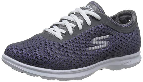 Giày thể thao nữ vải lưới kiểu thoáng khí , Thương hiệu : Skechers .