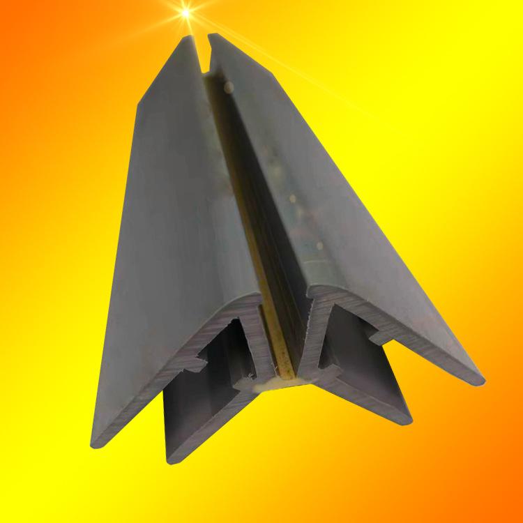 JIANJI Vật liệu dị dạng Pvc mềm và cứng coextrusion nhựa dải hiển thị tủ đặc biệt cạnh dải đùn PVC n
