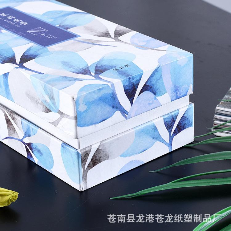hộp giấy âm dương Nắp hộp trang sức sáng tạo và đóng gói trong hộp quà tặng đồng hồ in màu, giấy bìa