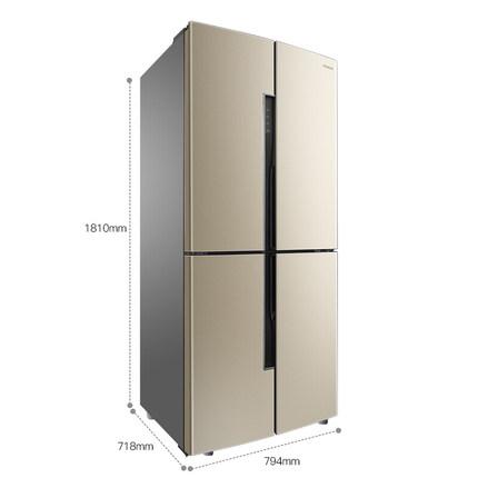 Ronshen Tủ lạnh Tủ lạnh biến tần bốn cửa Ronshen / Rongsheng BCD-456WD11FP