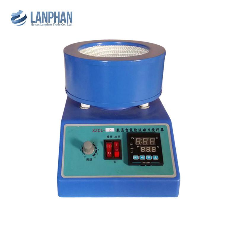 LANFAN Dụng cụ thí nghiệm Thiết bị thí nghiệm Máy khuấy từ điều khiển nhiệt độ thông minh SZCL-2 25-