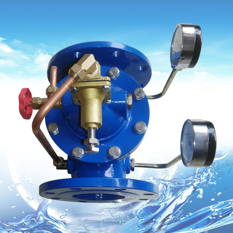 Van 200X thí điểm vận hành van giảm áp, van giảm áp, van điều chỉnh giảm áp, van điều khiển nước bán