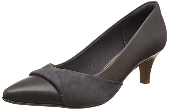 Giày búp bê cao gót dành cho nữ , Thương hiệu :  Clarks .