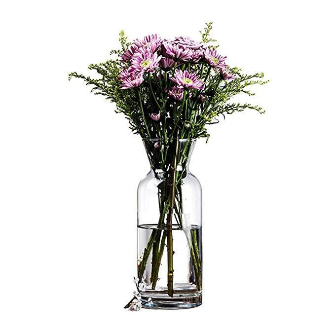Bình hoa thủy tinh trong suốt Pasabahce