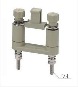 JY Cầu đấu dây Domino JL1-2.5 / 2 lắp miếng bảo vệ màn hình mảnh chuyển đổi mảnh kết nối thiết bị đầ