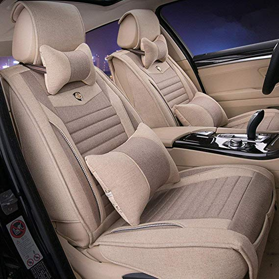 Cabello Đệm massage Linen Universal GM Volkswagen Tiguan Magotan Sagitar Golf LaVida Bora Touareg Vo