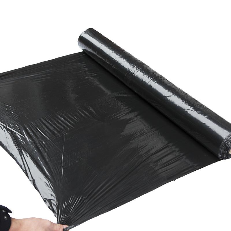 Màng che phủ nhà kính Nhà sản xuất cung cấp vải nhựa chất lượng cao và bền màu đen PE vật liệu mới m