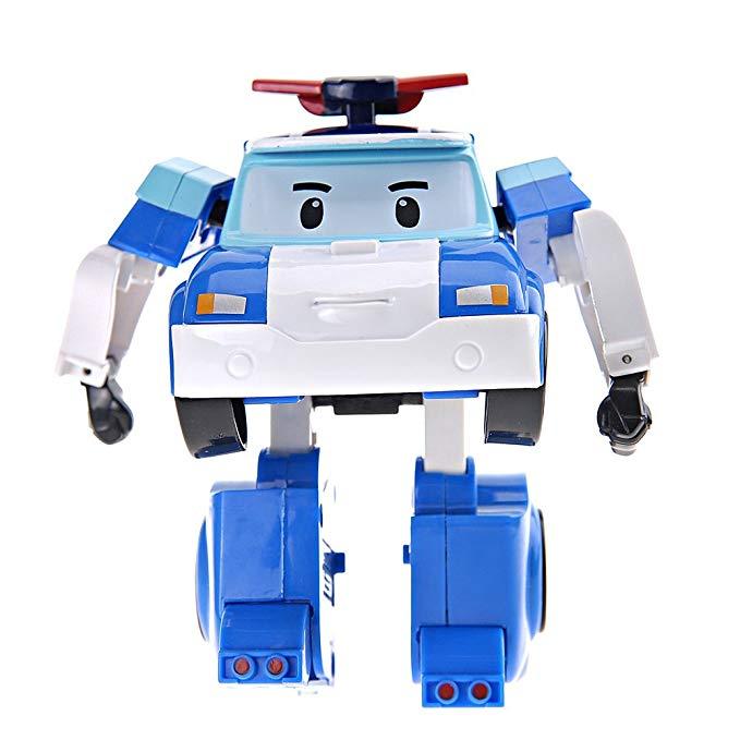 Silverlit Silver POLI Series dành cho trẻ em Đồ chơi búp bê Mô hình Robot biến dạng cực (Biến dạng)