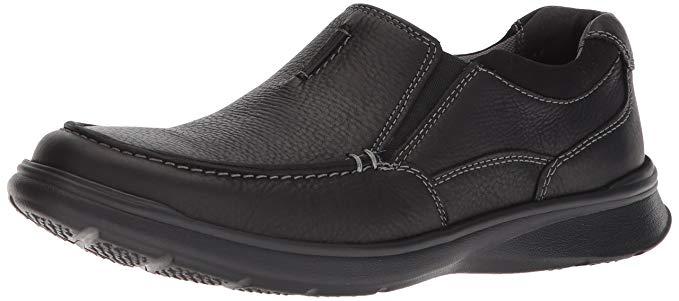 Giày Mọi đế bệt bằng Da dành cho Nam , Thương Hiệu : Clarks .