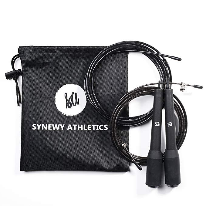Synewy Athletics Đồ dùng dã ngoại Nhảy dây - nhảy dây tốt cho đấm bốc, MMA và tập thể dục