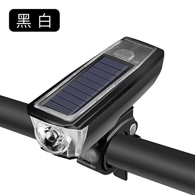 Đèn pha cho xe đạp leo núi sử dụng năng lượng mặt trời .
