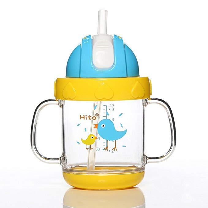 Hito Thị trường đồ dùng mẹ và bé Xiduo bà mẹ và trẻ em cung cấp cốc uống màu pha lê cho trẻ em cốc s
