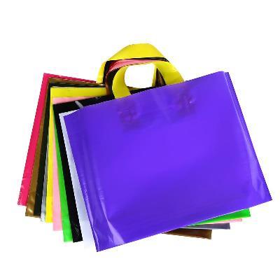Cửa hàng logo dày của túi. Túi quà gói mua sắm túi. Túi nhựa
