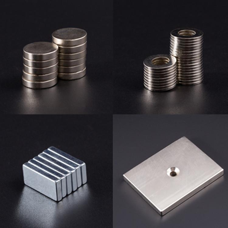 KAICI Sắt từ Các nhà sản xuất từ tính mạnh tại chỗ tùy chỉnh nam châm vuông neodymium sắt boron nam